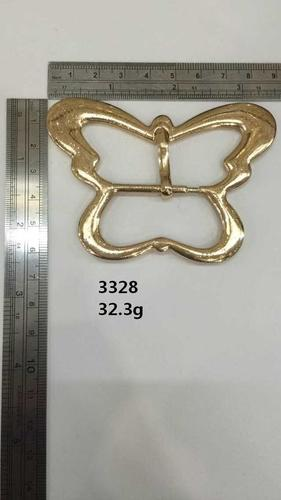 Butterfly pin buckle,light gold,for handbag,belt,eco-friendly,hardware