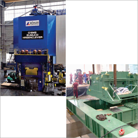 Vibration Isolation For Forging Presses