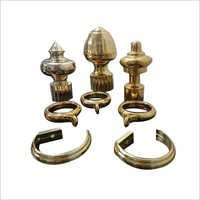 Curtain Finials Metallizing Services