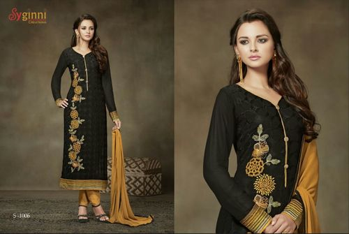 Buy Georgette Pant Style Suit