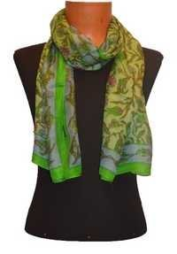 Silk Print Wrap