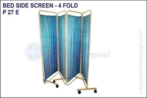 BED SIDE SCREEN - 4 FOLD
