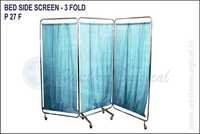 BED SIDE SCREEN - 3 FOLD