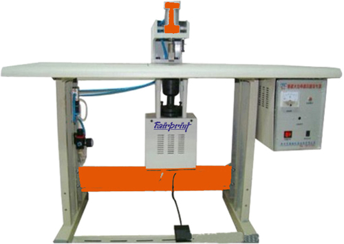 Ultrasonic Handle Loop Pasting Machine