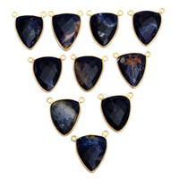 Sodalite Gold Plated Pendant