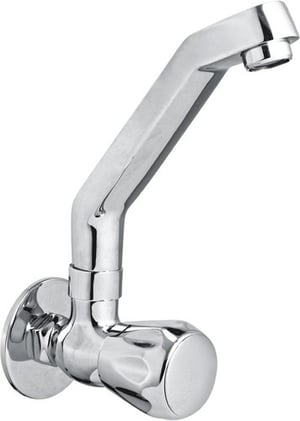 Brass Sink Cock With Swinging J Spout Casted