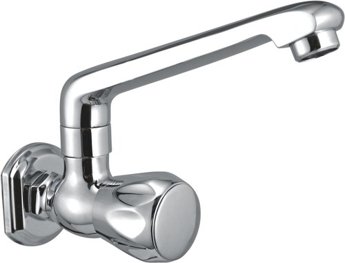 Brass Sink Cock With Swinging Spout Table Mounted