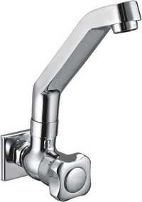 Brass Sink Tap With Swivel J Spout