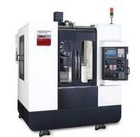 Drill Tap Machining Centers Closed Door