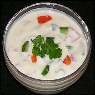 Half Plate Mix Veg Raita