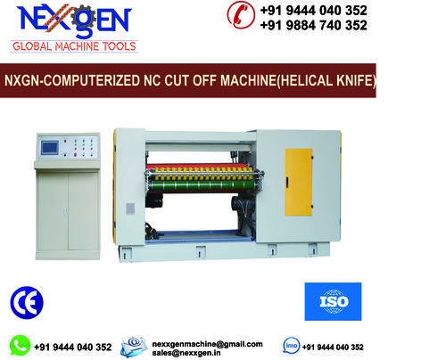 NC CUT OFF MACHINE – HELICAL