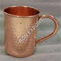 Pure Copper Hammered Mug