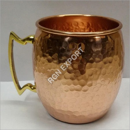 Hammered Moscow Mule Copper Mug