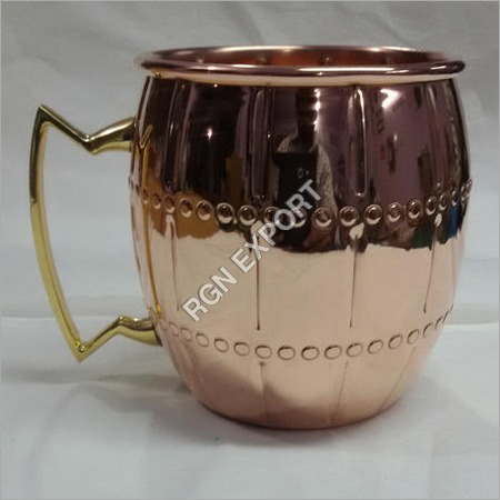 Copper Mug for Moscow Mule & Vodka