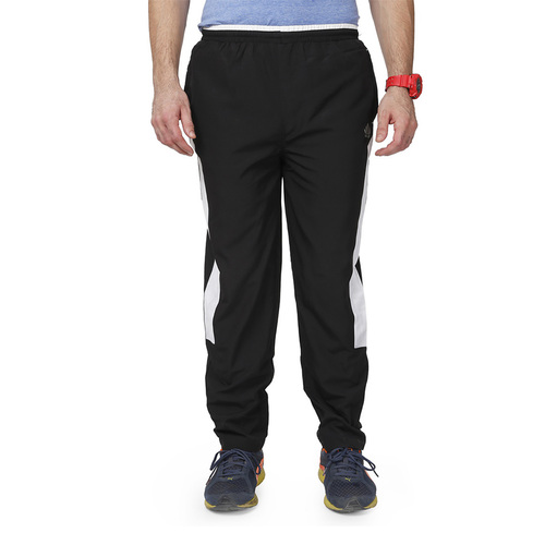 Mens Black & White Trackpant