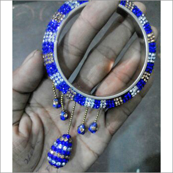 408 5 LATKAN BLUE GOLDEN & SILVER