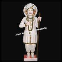 Marble Jalaram Bappa Statue