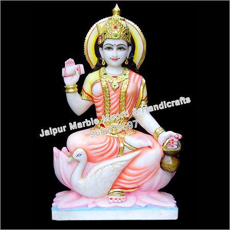 Marble Gayatri God Statue