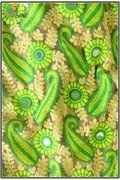 Mirror Work Embroidery Fabric (836)