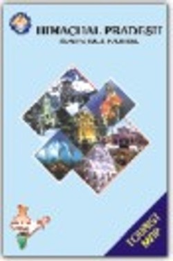 Himachal Pradesh Tourist Map
