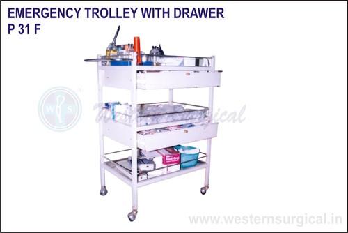 Emergency Trolley With Drawer