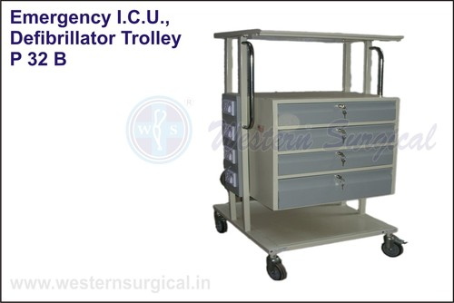 Emergency I.C.U., Defibrillator Trolley