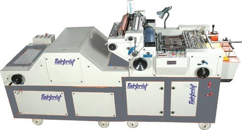 Single Color Plastic Bag Printing Machine