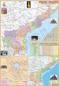 Andhra Pradesh Political Map