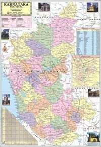 Karnataka Political map