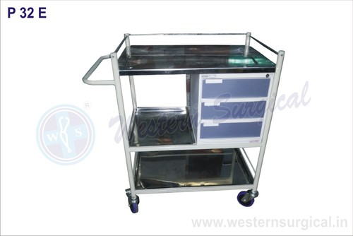Trauma Care Medicine Trolley