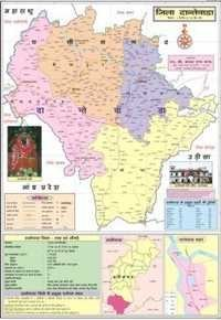 Dantewada District Map