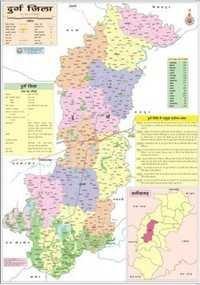 Durg Map