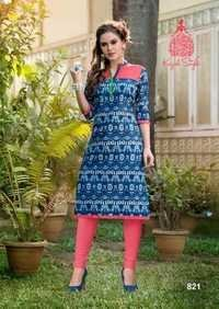 Ocean Girl Vol 8 kurtis Surat
