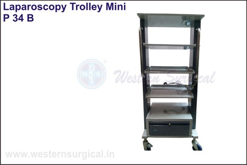 Economy Laparoscopy/Monitor Trolley