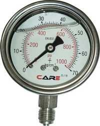 Liquid Filling Pressure Gauge