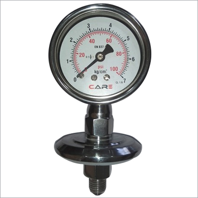 Compact Sealed Pressure Gauge