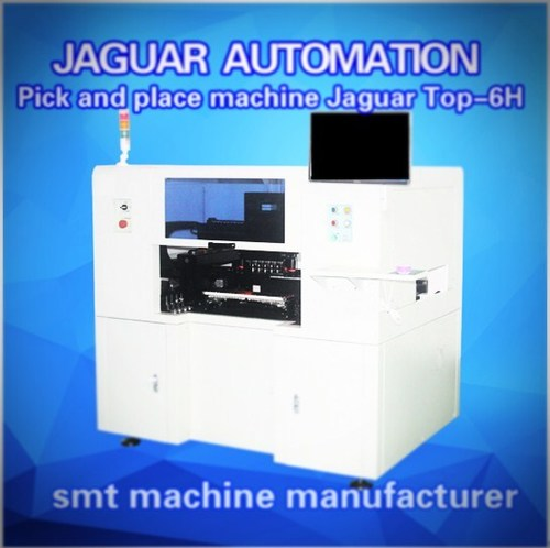 Pick and Place Machine with 6 Heads