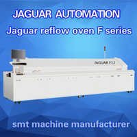 Special lead-free reflow oven for led light making machine , led soldering machine