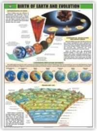 The Birth of the Earth and Evolution Chart