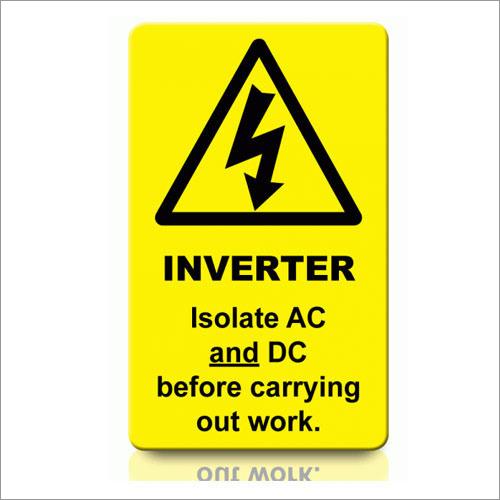 Inverter Labels