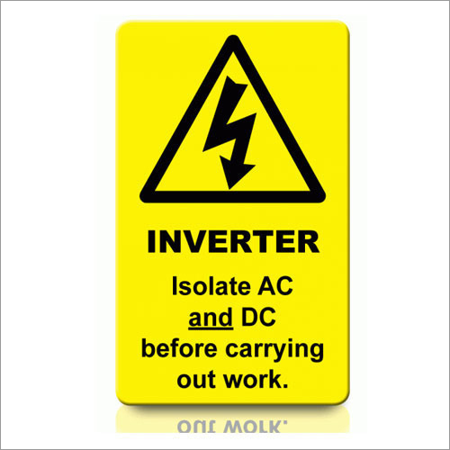 Inverter Labels