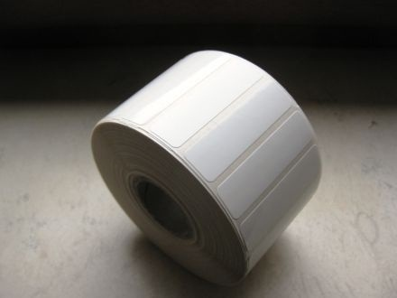 White PE Labels