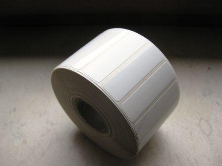 White PE Labels