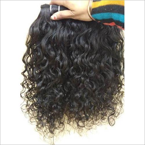 Natural Indian Curly Human Hair,