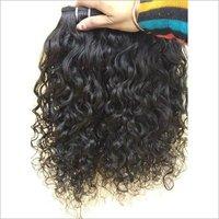 Natural Indian Curly Human Hair, cuticle aligned hair