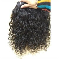 Natural Indian Curly Human Hair, cuticle aligned hair