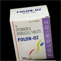 OZ Ofloxacin Ornidazole Tablets
