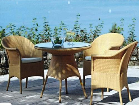 Rattan Chair Set