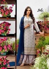 Buy Plazzo Style Georgette Suit Online