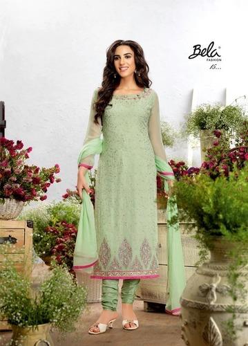Shop Designer Churidar Suit Online